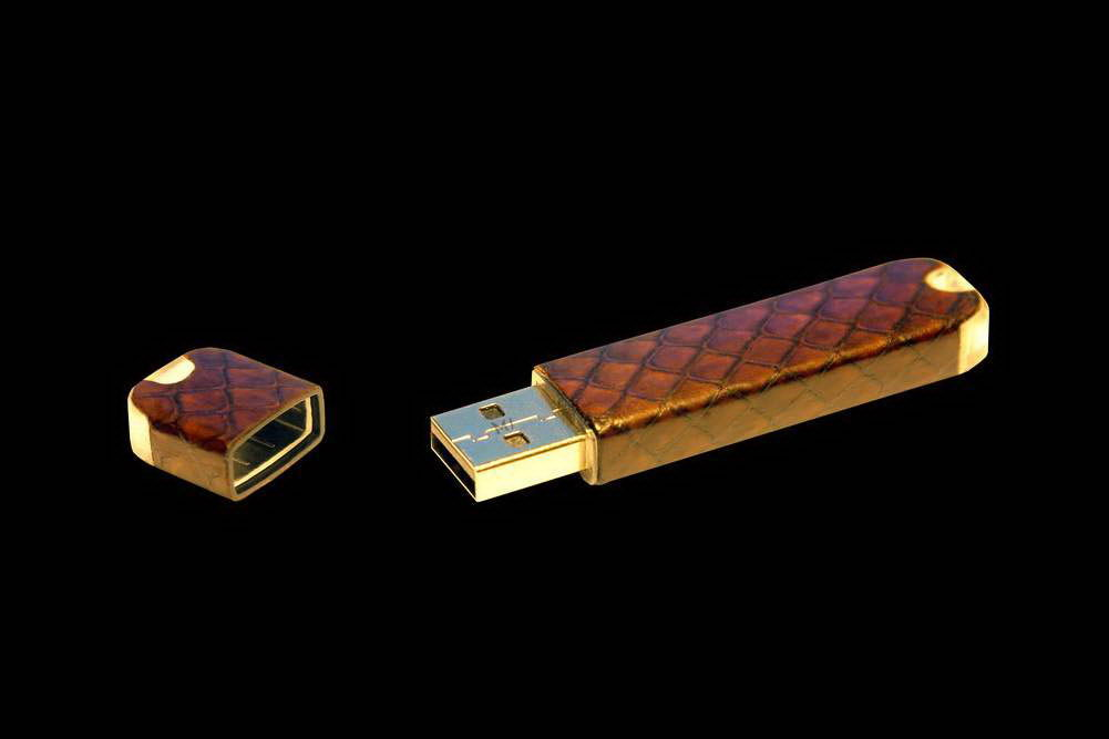 MJ - USB Flash Drive Leather Edition - Sea Snake.