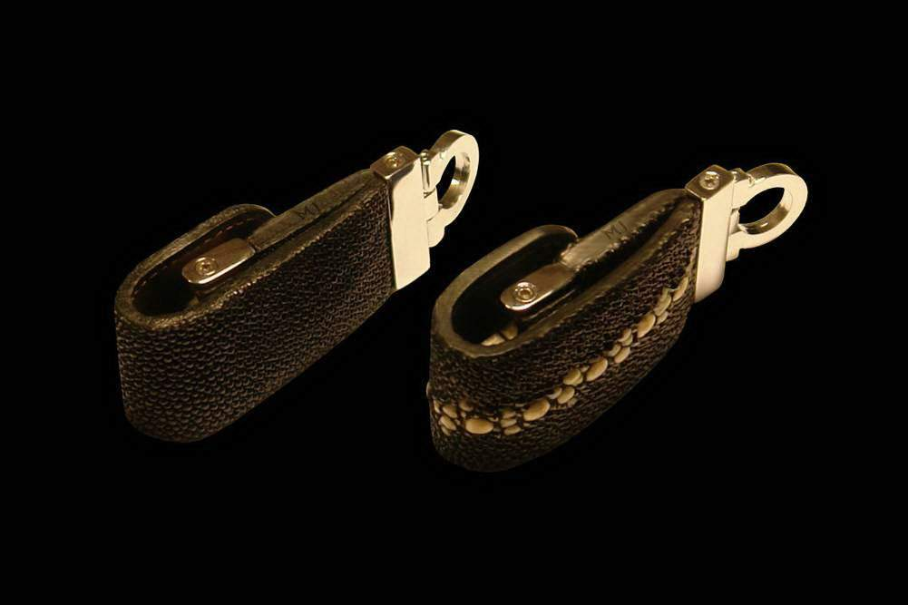 MJ - Flash Drive Exotic Leather - Stingray Classic & Siam Line