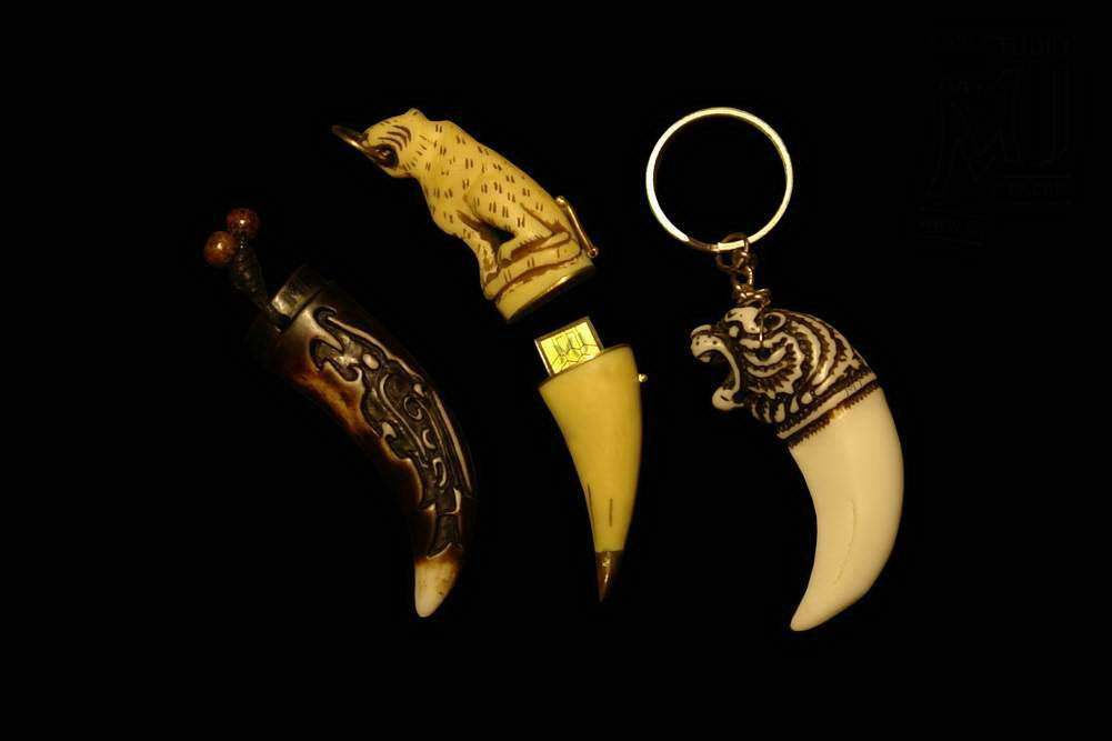MJ - USB Flash Drive Luxury Bone Limited Edition - Ivory, Mammoth, Walrus etc